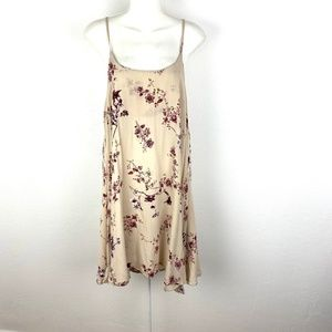 Brandy Melville floral print swing sun dress mini